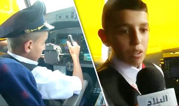 阿尔及利亚航空两名飞行员允许一男孩开飞机被停职