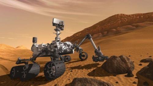 火星探测车好奇号。(图片来源:NASA)