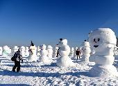 (社会)(4)2018个雪人亮相哈尔滨