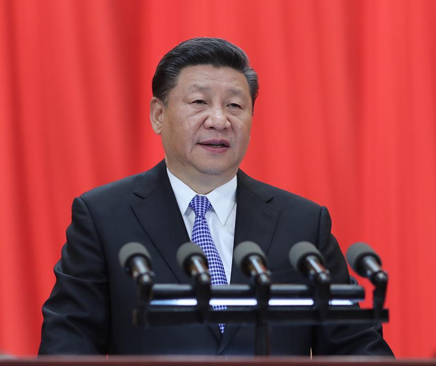 5月4日,紀念馬克思誕辰200周年大會在北京人民大會堂隆重舉行。中共中央總書記、國家主席、中央軍委主席習近平在大會上發表重要講話。(圖片來自:新華網)