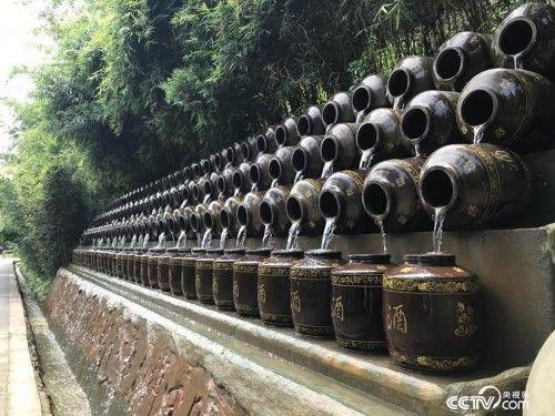 """""""花田酒地""""打造白酒文化旅游目的地。(孔华/摄)"""