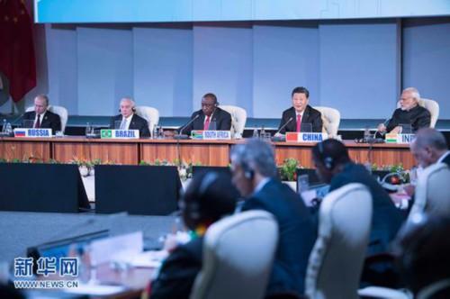 金砖国家领导人第十次会晤26日在南非约翰内斯堡举行,国家主席习近平出席会议并发表重要讲话。