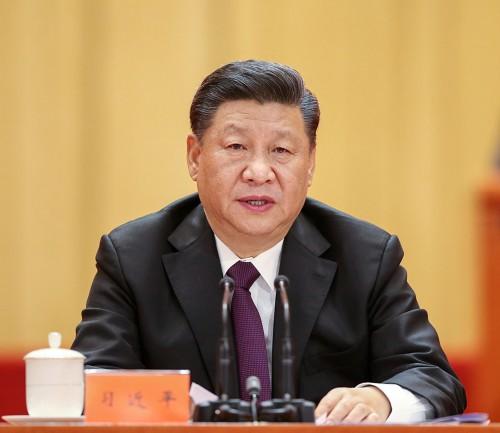 12月18日,庆祝改革开放40周年大会在北京人民大会堂隆重举行。中共中央总书记、国家主席、中央军委主席习近平在大会上发表重要讲话。 (新华社记者 姚大伟 摄)