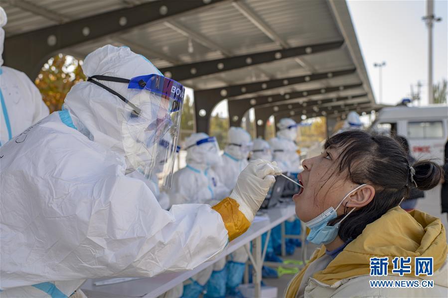 (聚焦疫情防控·图文互动)(3)特写:争分夺秒,4天完成474.65万人核酸检测