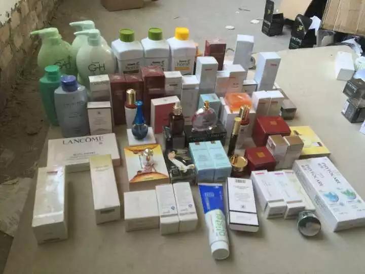 假冒名牌化妆品网店被查 按真品算能卖近9个亿