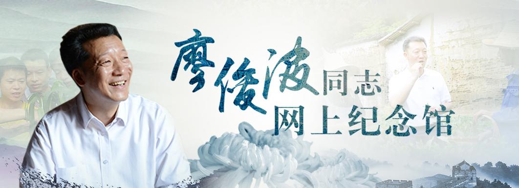"""""""樵夫""""的魔力――追记全国优秀县委书记廖俊波"""