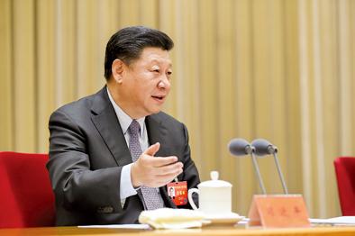 2017年12月28日至29日,中央农村工作会议在北京举行。习近平在会上发表重要讲话。新华社记者 丁林 摄