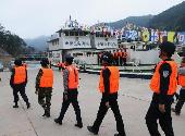 图1 2017年12月26日晨,在云南西双版纳关累港举行的第65次中老缅泰4国联合巡逻执法出发式。