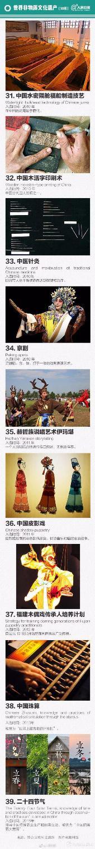 """中国""""世界级遗产""""全名录"""