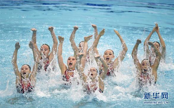 (全运会)(9)花样游泳——集体项目预赛赛况