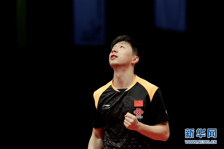 (体育)(1)乒乓球——德国公开赛:马龙夺冠