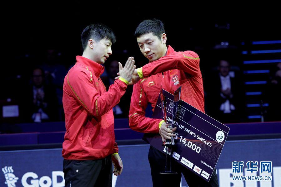 (体育)(5)乒乓球——德国公开赛:马龙夺冠