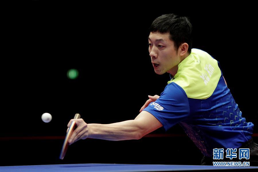 (体育)(6)乒乓球——德国公开赛:马龙夺冠