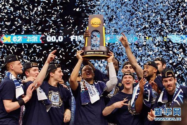 (体育)(1)篮球——NCAA决赛:维拉诺瓦大学夺冠