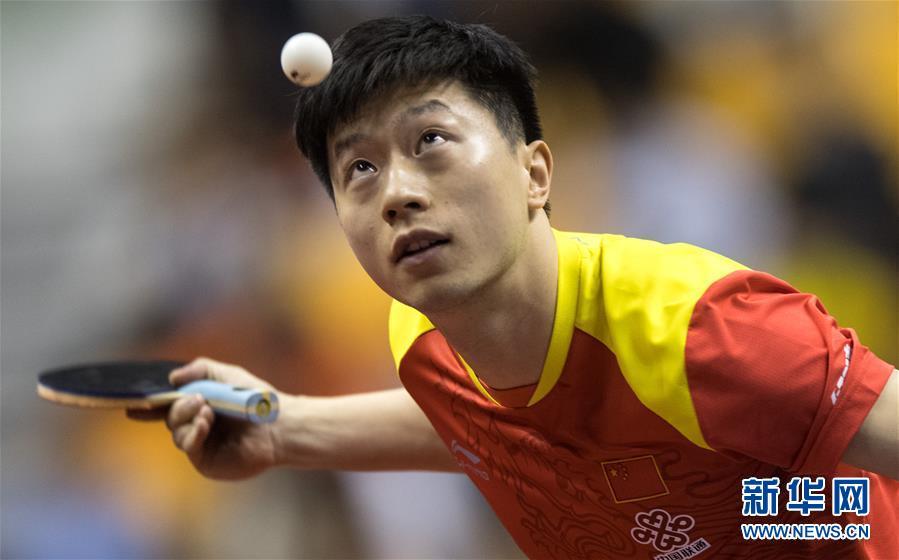 (体育)(15)乒乓球——中国队举行世乒赛热身赛