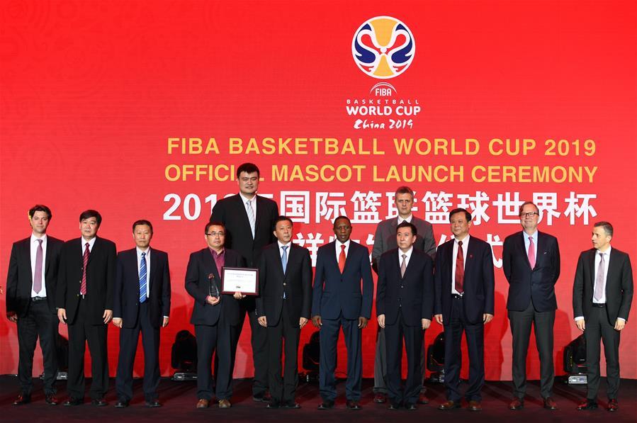 """(体育)(3)篮球——2019年篮球世界杯吉祥物""""梦之子""""正式亮相"""
