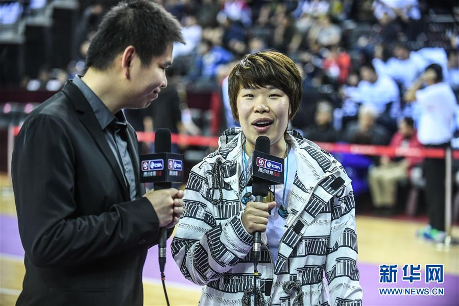 (体育)(26)篮球——CBA总决赛第四场:辽宁本钢对阵浙江广厦控股
