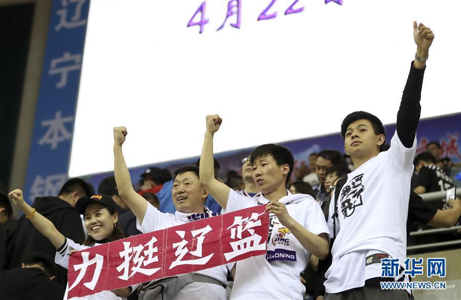 (体育)(23)篮球――CBA总决赛第三场:辽宁本钢胜浙江广厦控股