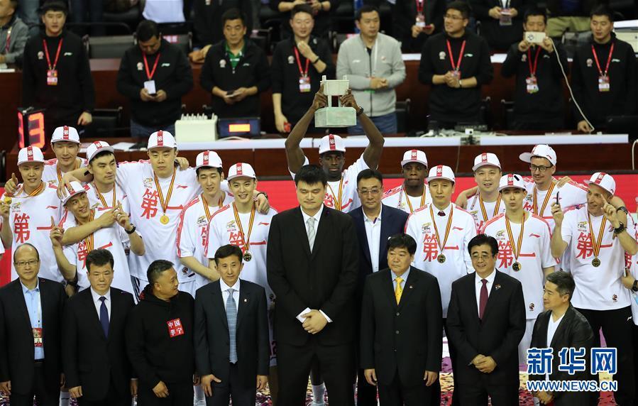 (体育)(6)篮球——CBA总决赛:辽宁本钢夺得总冠军