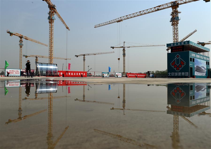 (体育)(4)北京冬奥场馆国家速滑馆工程全面进入地下施工阶段