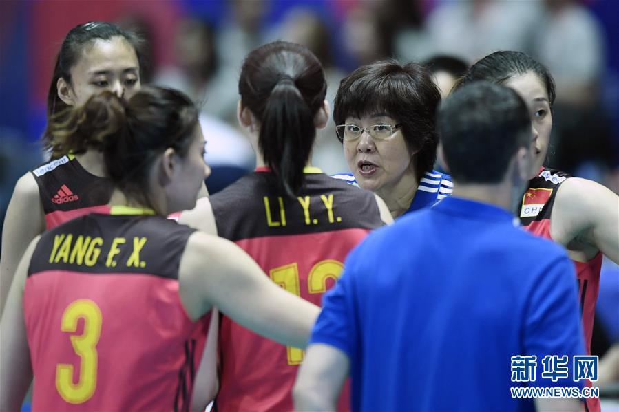 (体育)(2)排球——世界女排联赛:中国胜多米尼加