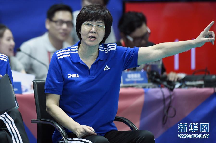 (体育)(6)排球——世界女排联赛:中国胜多米尼加