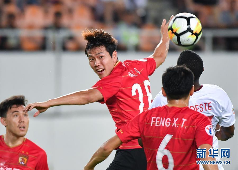 (体育)(5)足球——亚冠八分之一决赛:广州恒大对阵天津权健
