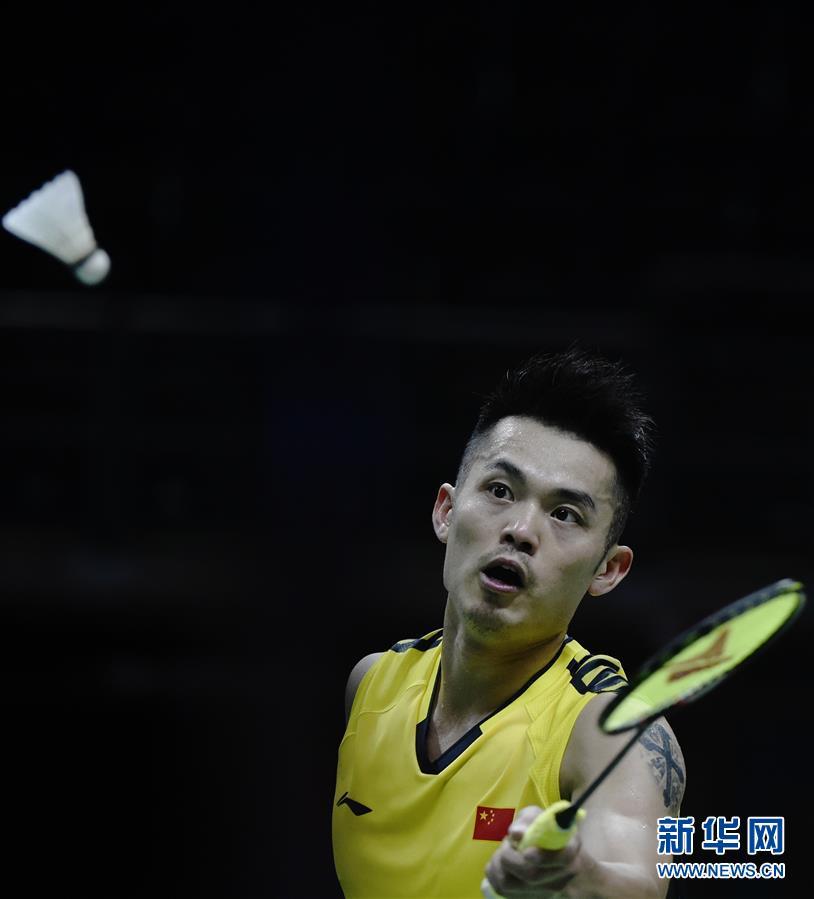 (体育)(1)羽毛球——汤姆斯杯:中国胜法国