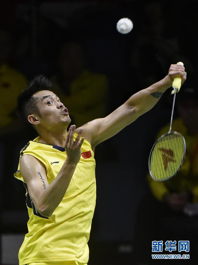 (体育)(2)羽毛球——汤姆斯杯:中国胜法国