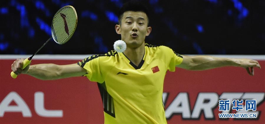 (体育)(2)羽毛球——汤姆斯杯:中国对阵法国