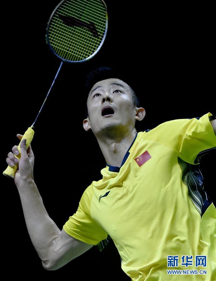 (体育)(3)羽毛球——汤姆斯杯:中国对阵法国