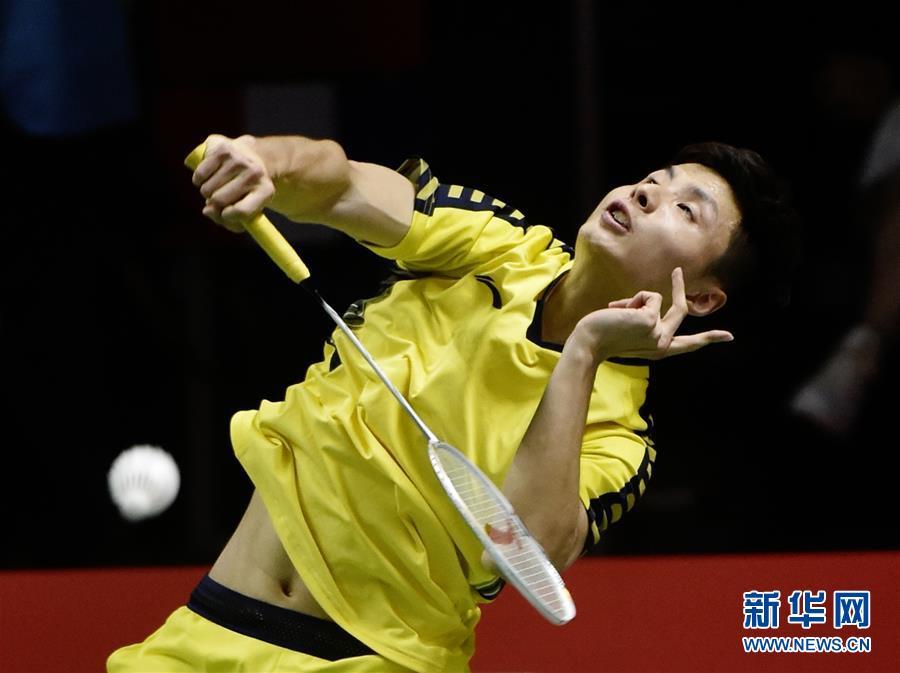 (体育)(6)羽毛球——汤姆斯杯:中国对阵法国