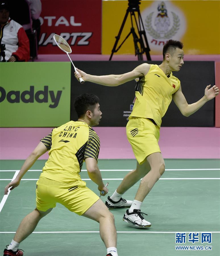(体育)(9)羽毛球——汤姆斯杯:中国对阵法国