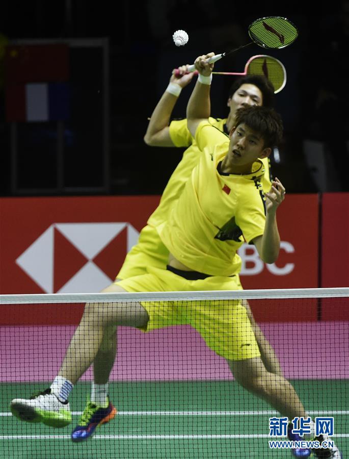 (体育)(11)羽毛球——汤姆斯杯:中国对阵法国