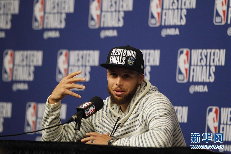 (体育)(14)篮球——NBA西部决赛:勇士队晋级总决赛