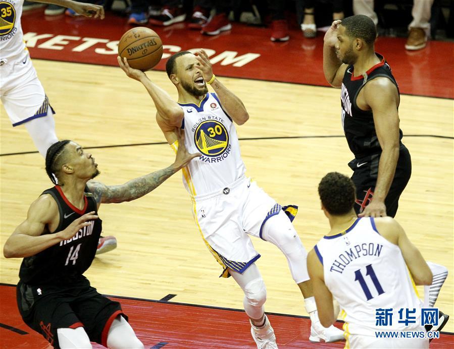 (体育)(2)篮球——NBA西部决赛:勇士队晋级总决赛