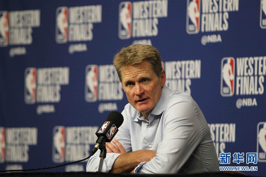 (体育)(12)篮球——NBA西部决赛:勇士队晋级总决赛