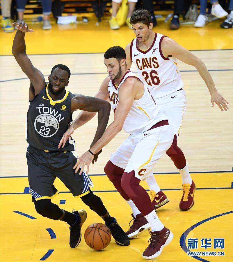 (体育)(5)篮球——NBA总决赛第二场:勇士胜骑士