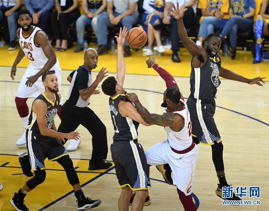 (体育)(9)篮球——NBA总决赛第二场:勇士胜骑士