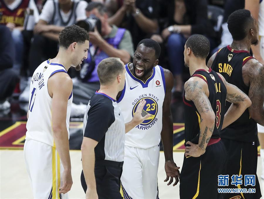 (体育)(8)篮球——NBA总决赛第三场:勇士胜骑士