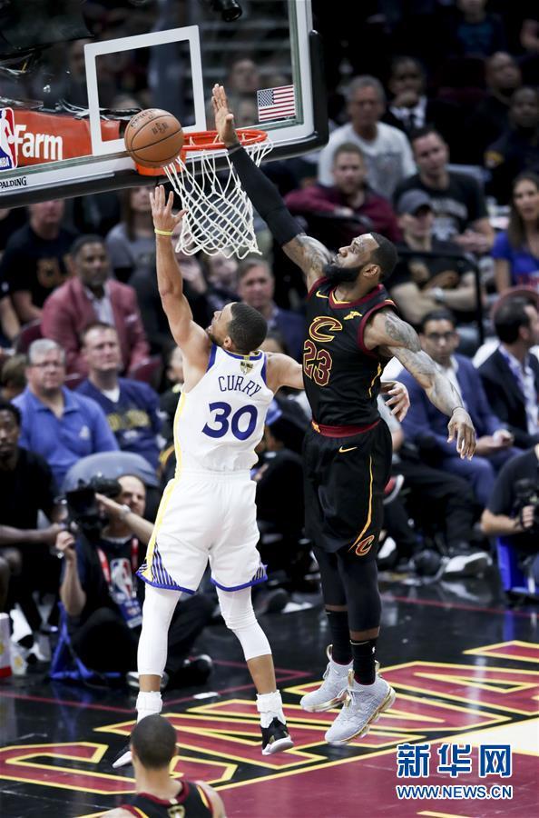 (体育)(14)篮球——NBA总决赛第三场:勇士胜骑士