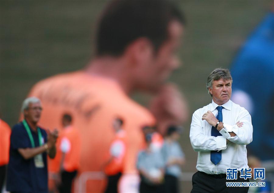 (体育)(4)足球——中国足协宣布希丁克出任中国U21男足主教练