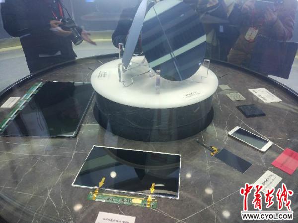 合肥晶合集成电路有限公司生产的晶圆产品 中国青年报·中青在线见习