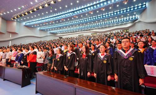 西北大学6000余毕业生挥别校园 校长寄语:唯有情怀,方能行远