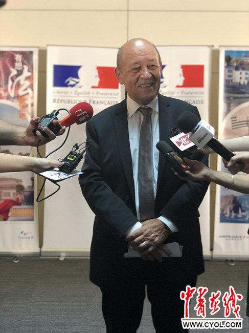 法国外长:愿为中国游客提供更便捷的签证服务_西安旅游攻略