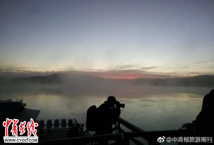 北京市民陈女 供图 谁说华北美不过岭南,美不过云贵,这夕阳西下的