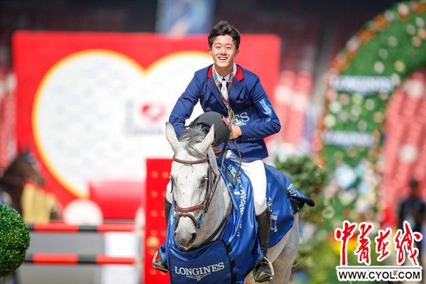 第八届浪琴表北京国际马术大师赛周末完赛