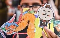 (国际)(2)新西兰孩子彩笔下的兵马俑和中国龙