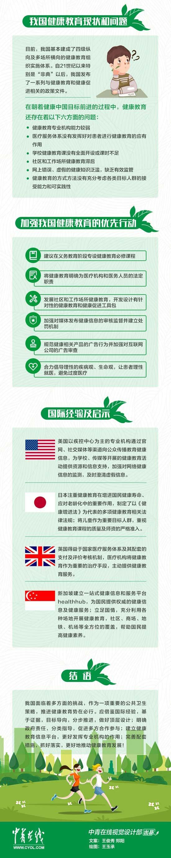 健康中国需要全民健康教育