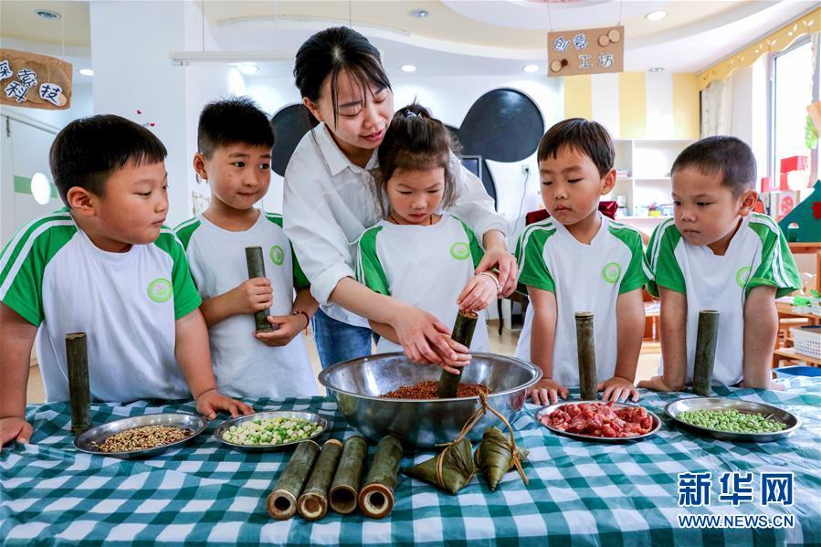 (教育)(2)浙江长兴:幼儿园多彩活动迎端午